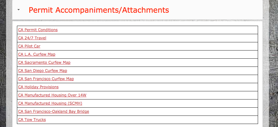 New Section on Permit Attachments Added to OSLA
