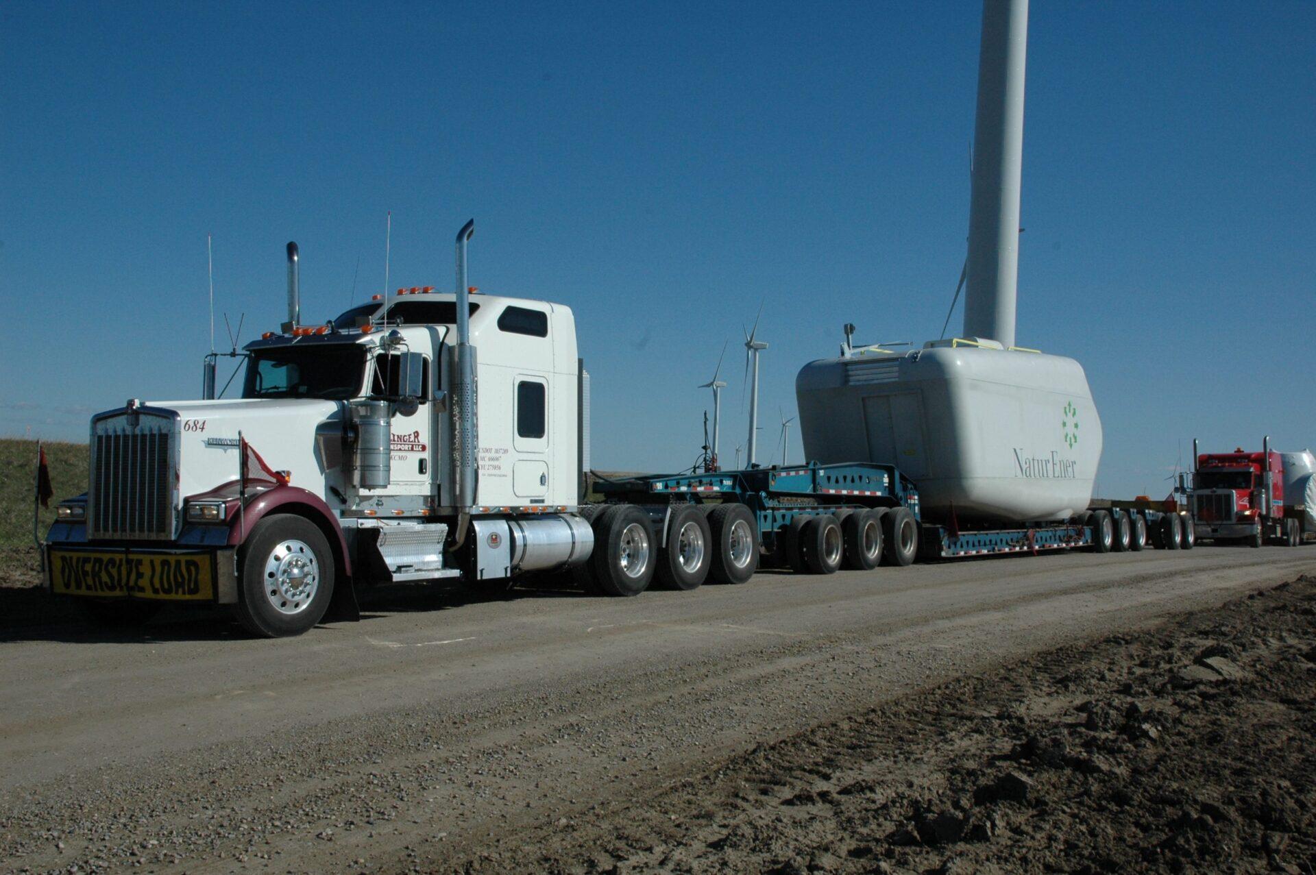 Simplify the Oversize Transport Process